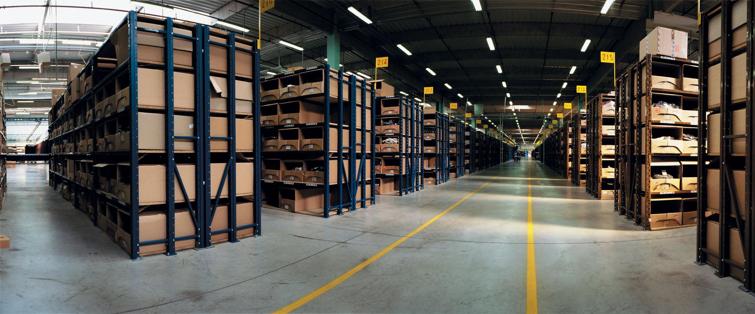 Warehouse main page